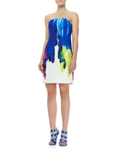 milly watercolor dress