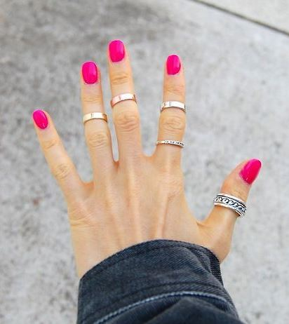 2017 fashion jewelry trends - Jewelry Trend Stackable Rings Ine Style