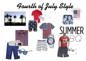 Men's Fourth of July Style