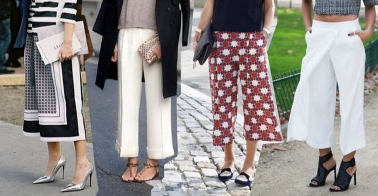 culottes 4 pairs