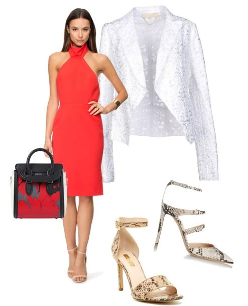 Stylish midi dresses and midi skirts take you from the office to an