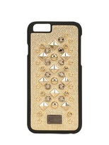 iphone case gold with studs dolce and gabbana