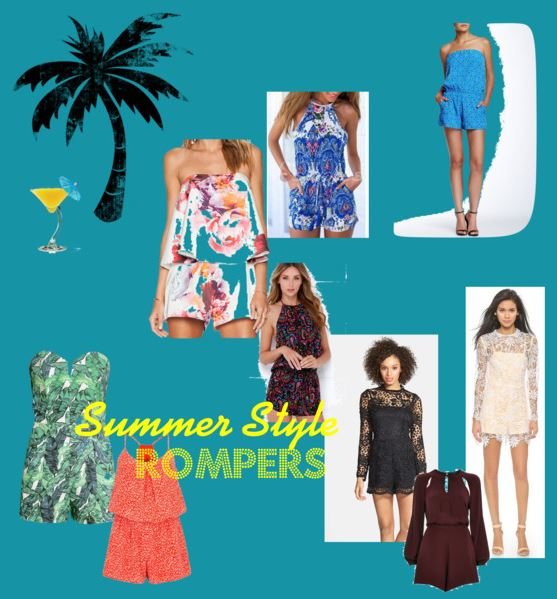 summer style rompers