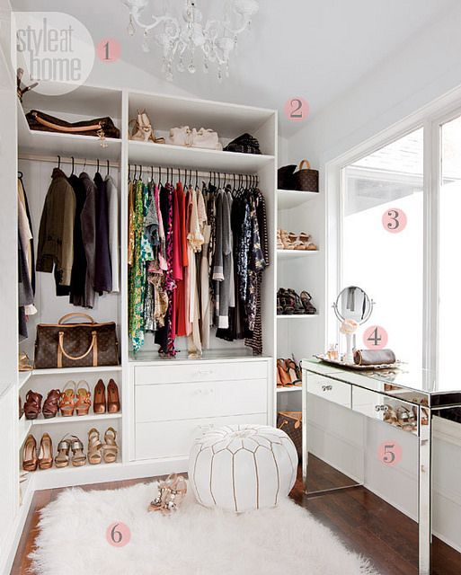 Make your closet look like a chic boutique divine style - Furniture for dressing room ...