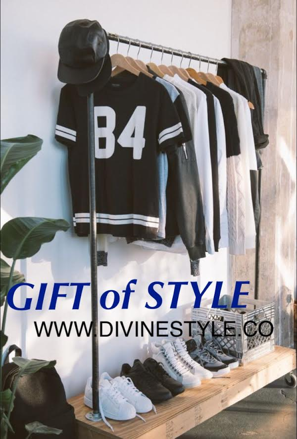 Divine Style gift certificate, styling gift certificate