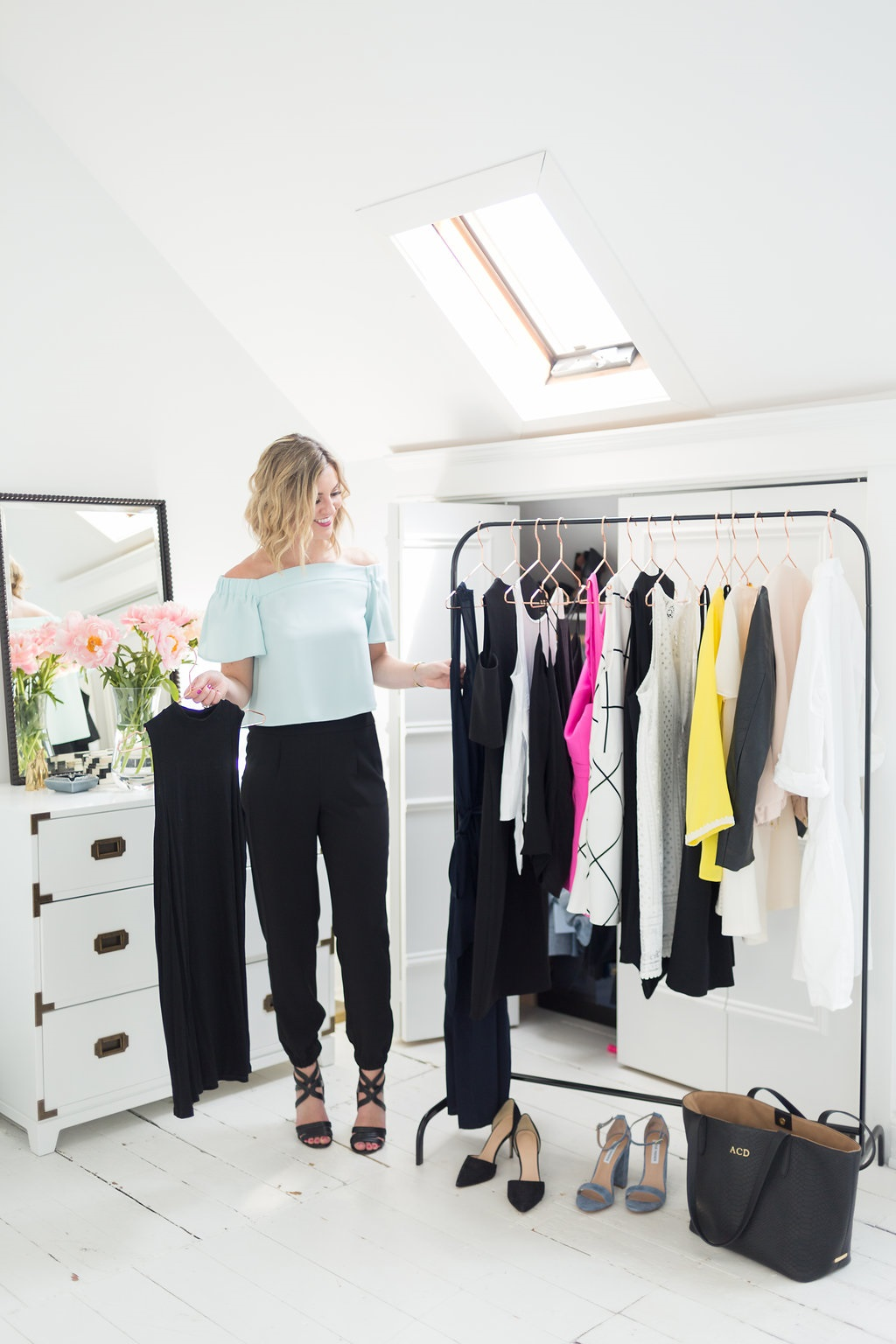 Closet Edit, in-home style session, Divine Style closet edit