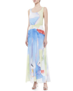 alice = olivia wearable art maxi dress
