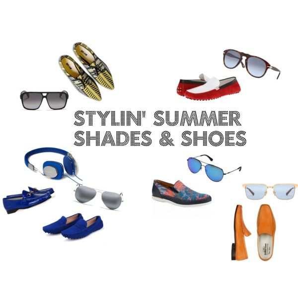 Men's Summer Shades and Shoes new