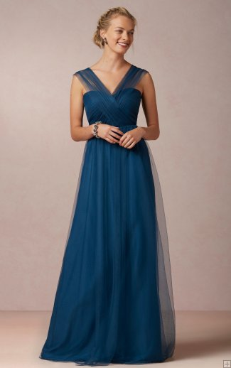 bridesmaid dress teal