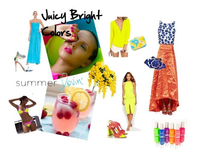 summer bright colors