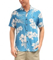 board shorts hawaiian print shirt