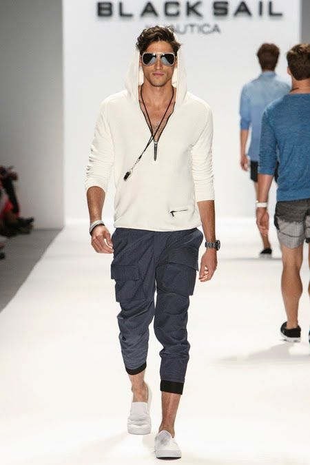 men's outfit sporty joggers