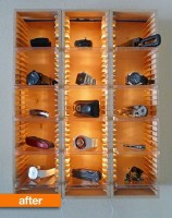 closet accessory cd storage rack
