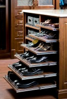 closet shoe drawers