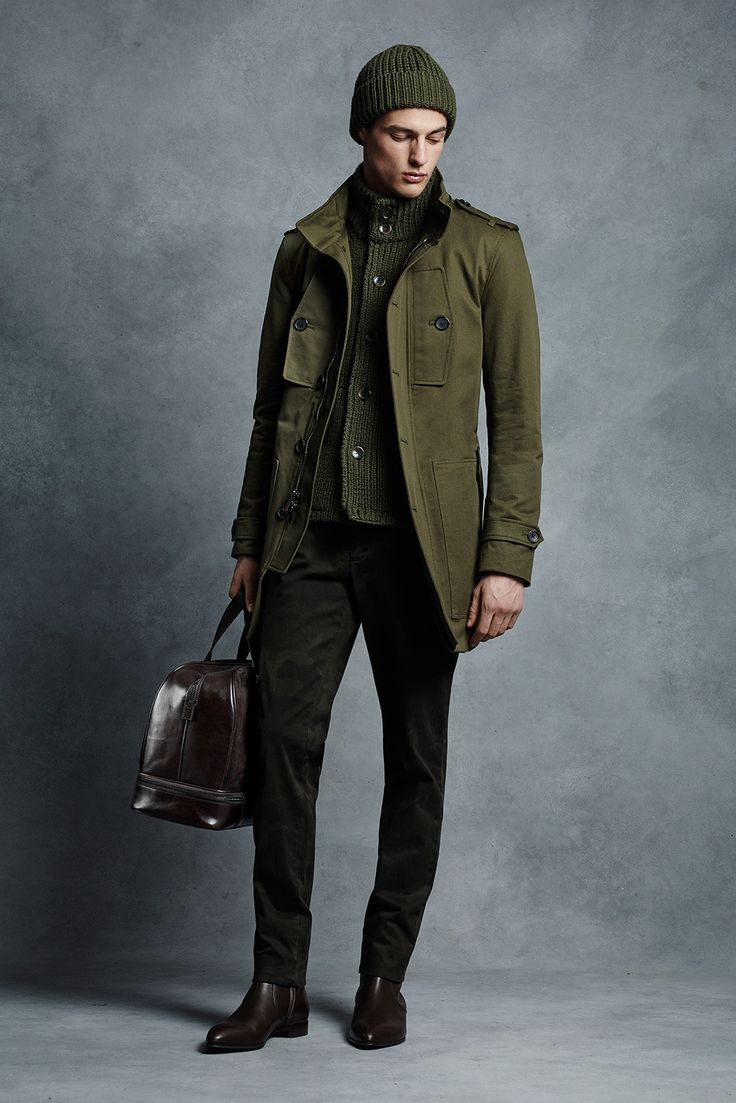 men's fall olive color