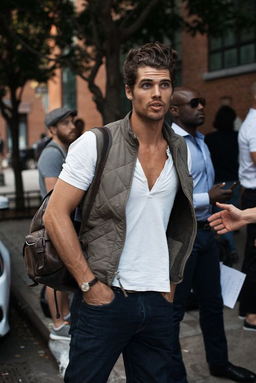 men's transition to fall vest