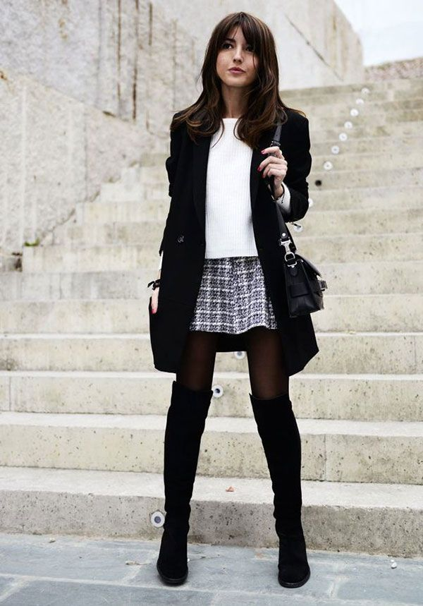 245846c1daff mini skirt long jacket yellow mini skirt long jacket black and white