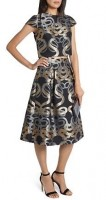 ted baker print skirt and top