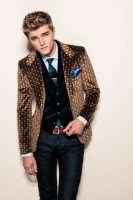 NYE men's print jacket