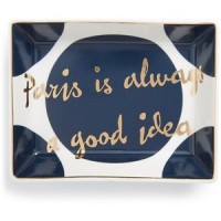 holiday gifts paris trinket tray