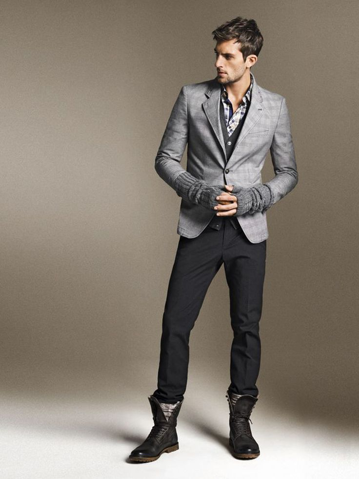 Men S Sharpest Styles For Wearing Boots Divine Style
