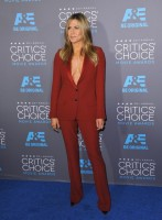 red jumpsuit jennifer aniston