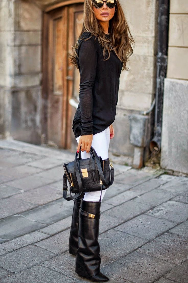 Stylish Ways To Wear Winter Boots Divine Style