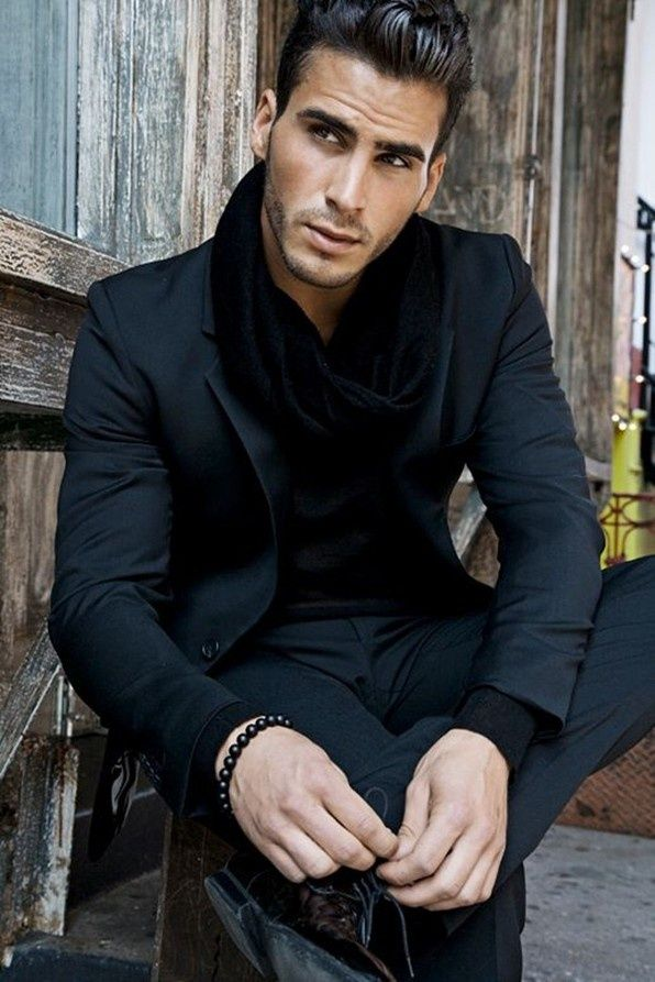 Men Stylish Looks For Wearing Scarves Divine Style