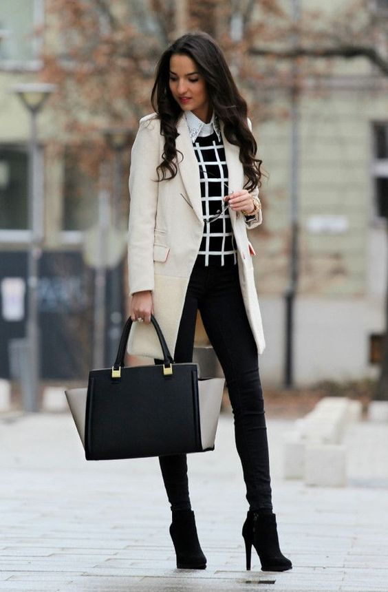 interview outfits winter work style divine style. Black Bedroom Furniture Sets. Home Design Ideas
