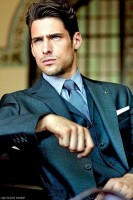 men's suit style green suit