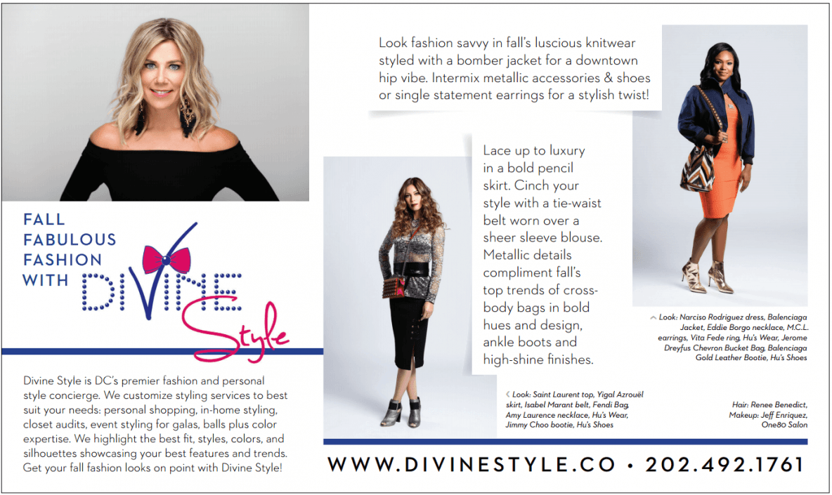 DC Modern Luxury September 2016, Divine Style, fashion editorial, DC fashion stylist