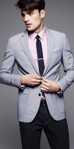 This Bold Color Button Down Goes From Suit To Jeans