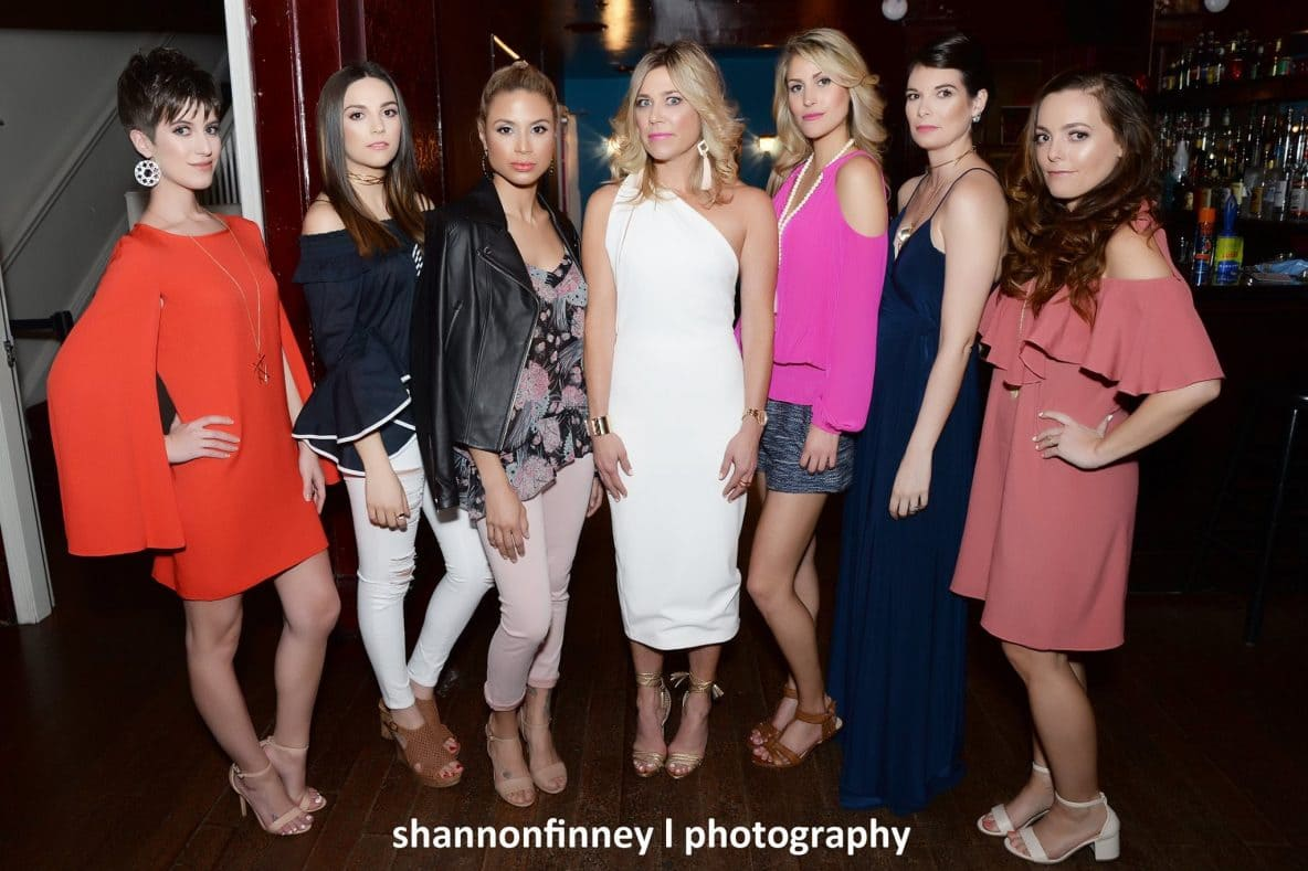 DC fashion blogger models with Kelley Kirchberg of Divine Style