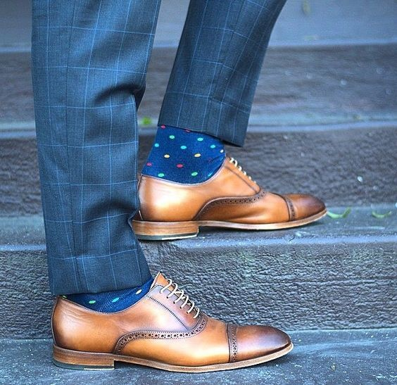 the best color sock and shoe combinations to wear this