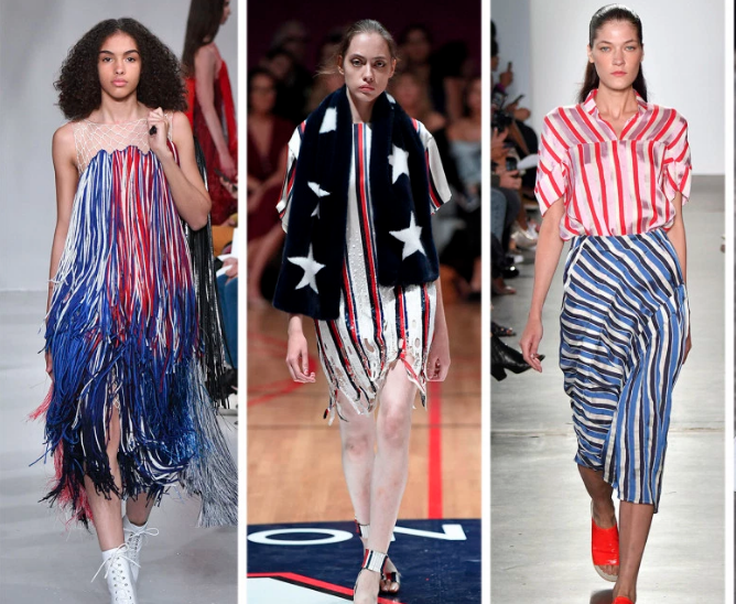Spring 2018 Fashion Trends, America the Great