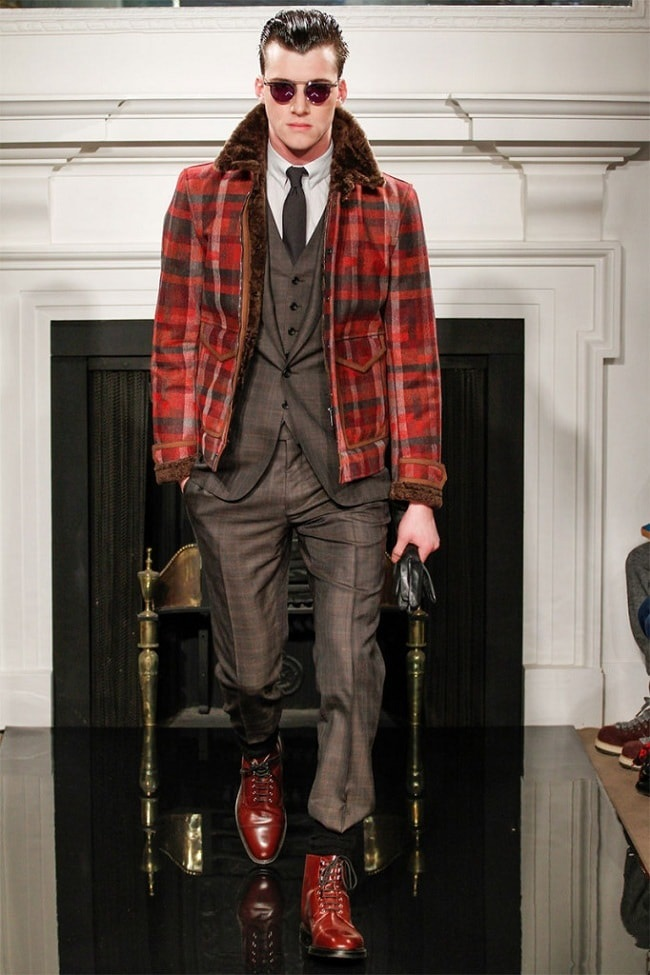 3 Key Pieces that Change Your Look, men's statement jacket, men's red plaid jacket with gray suit
