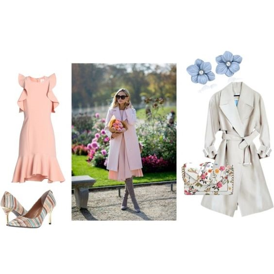Pastels to Lace…Grown-Up Easter Dresses, spring trench coat and dress