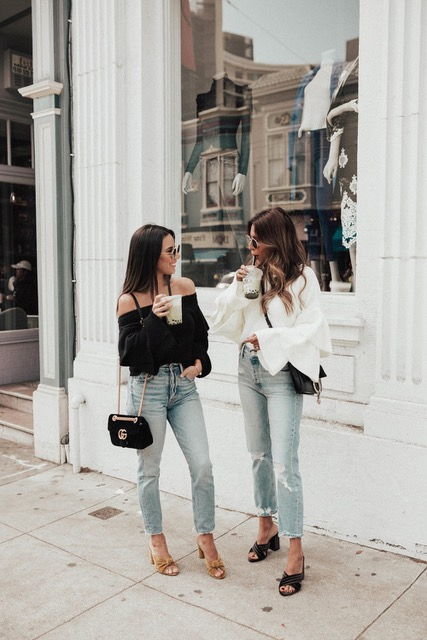 7 Things You Shouldn't Have in Your Closet After 30, low-rise denim, women's denim outfit