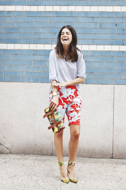 7 Things You Shouldn't Have in Your Closet After 30, short shorts, red floral long shorts