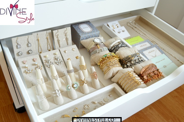 Jewelry Organization…Keep Your Jewels in Style, jewelry drawer