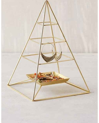 Jewelry Organization…Keep Your Jewels in Style, jewelry organizers, jewelry holders, magical-thinking-pyramid-jewelry-stand-bronze