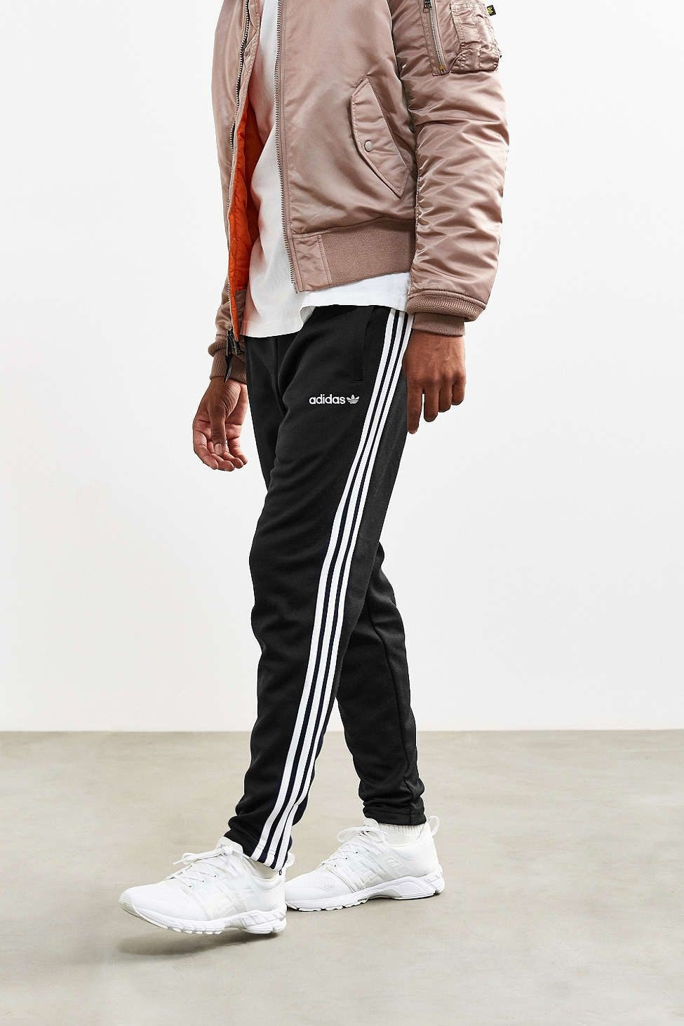 Men's Stylish Active Gear for 2019, men's track pants, men's adidas track pants