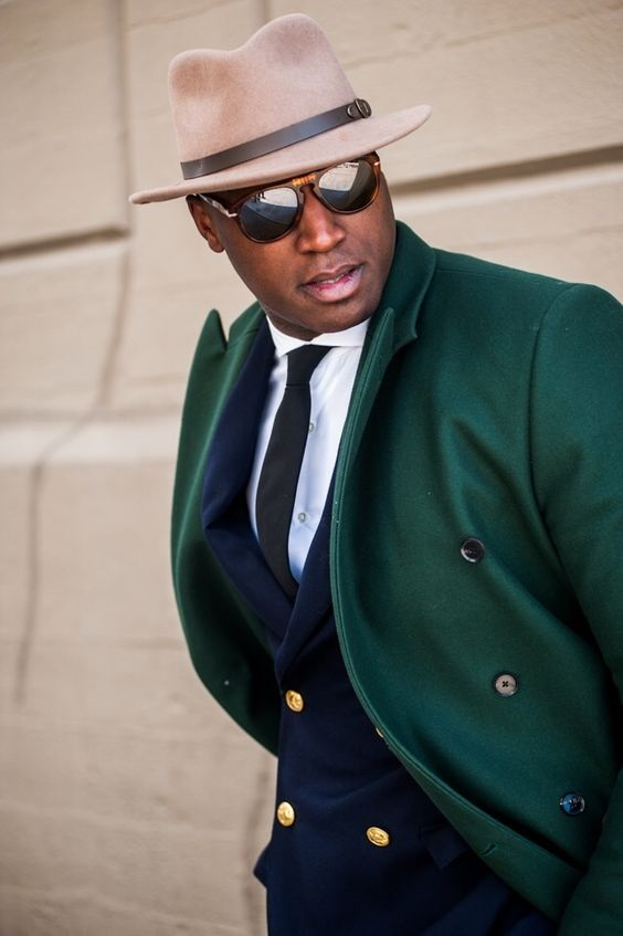 The Style Essentials You Need Men, trendy jacket, green overcoat
