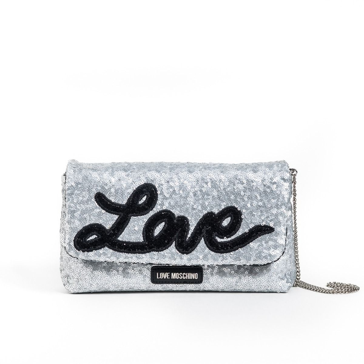 Valentine's Day Gifts for that Special Someone, Valentine's gifts for her, love Moschino Love sequin clutch