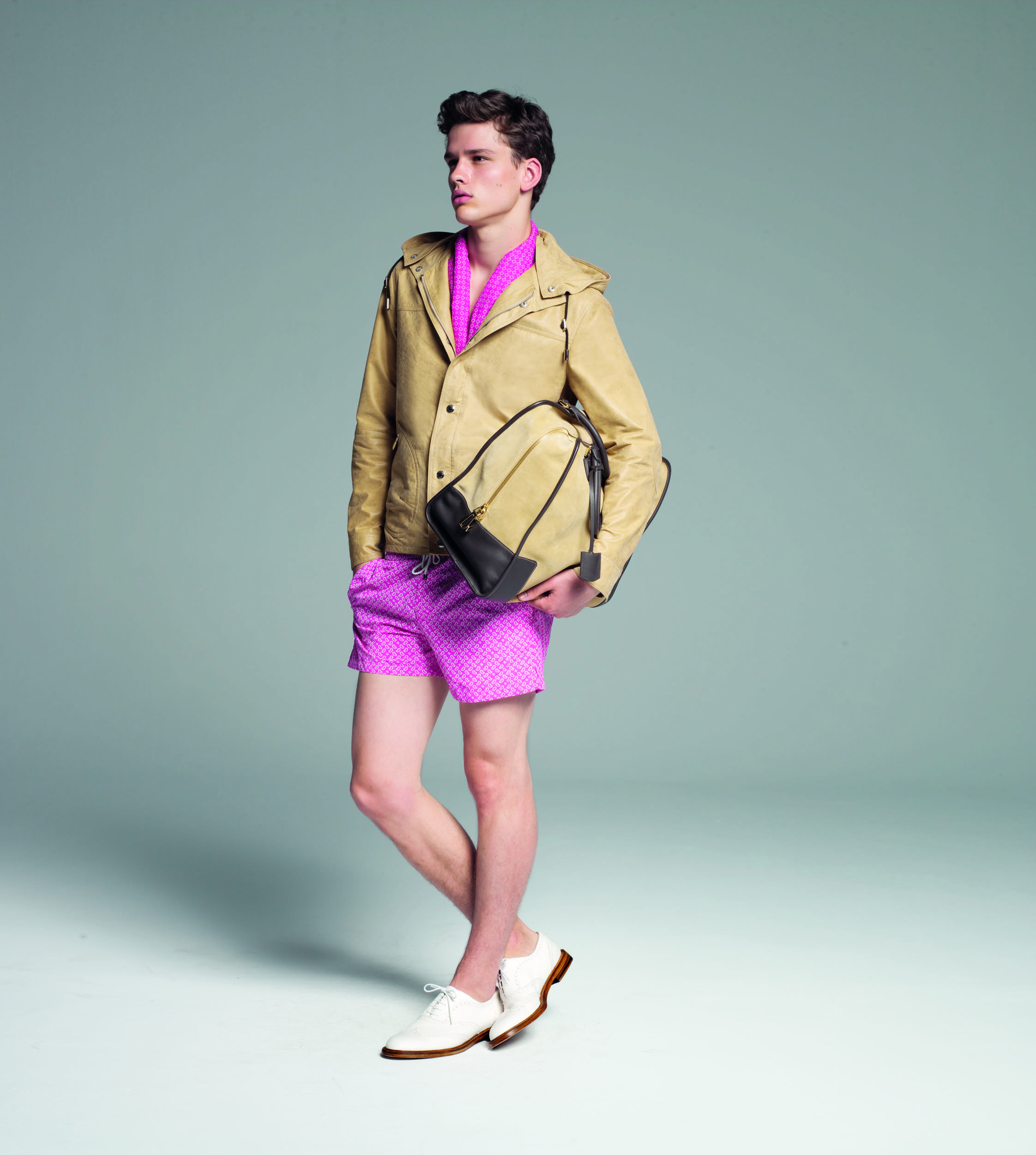 Spring's Must Wear IT Color yellow, Loewe's yellow weekender