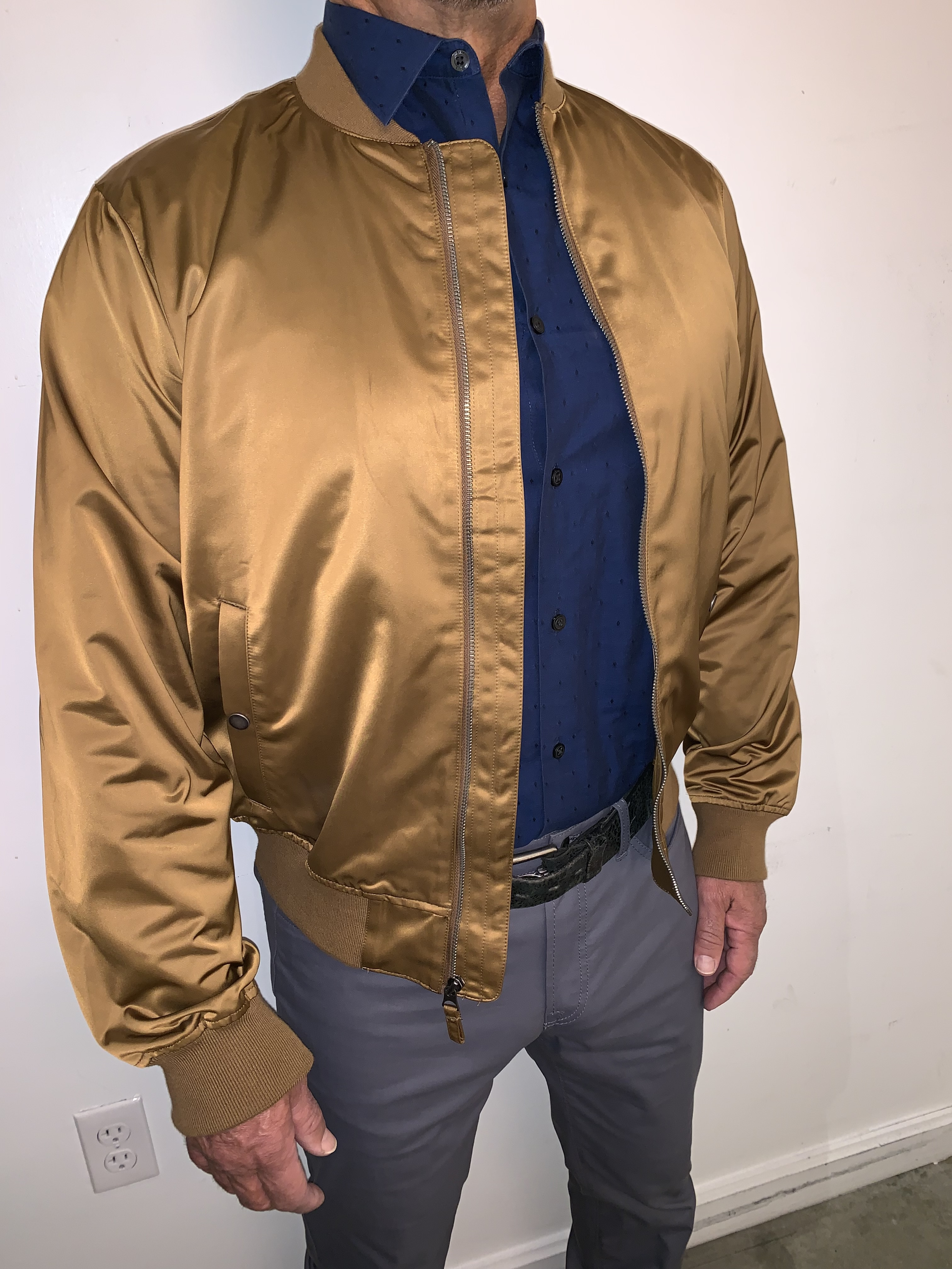 Get an Edge Up on Fall Outerwear, men's fall jacket trends 2019, men's bomber jackets, Bonobos bomber jacket
