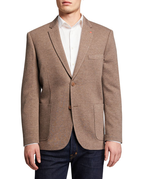 How to Layer for Fall, English Laundry traditional knit blazer taupe
