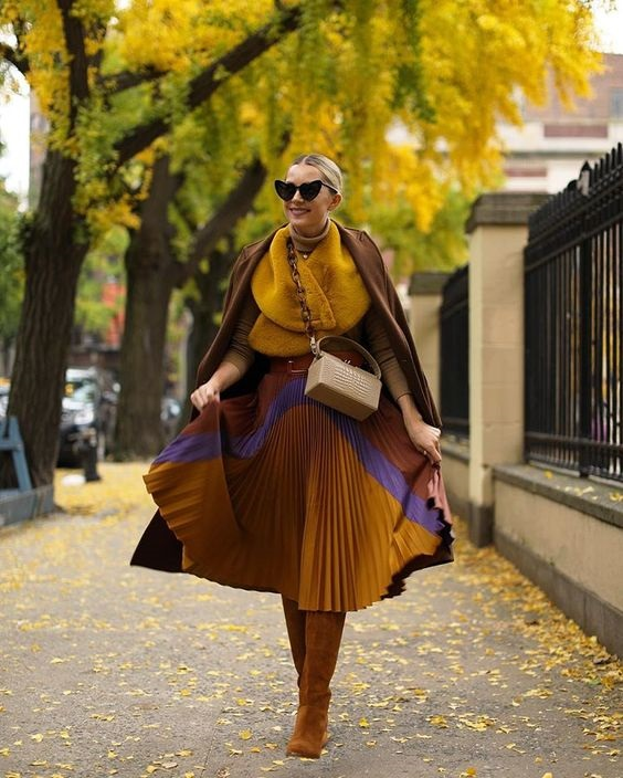 Tonal Dressing, shades of camel outfit, Blair Eadie Bee