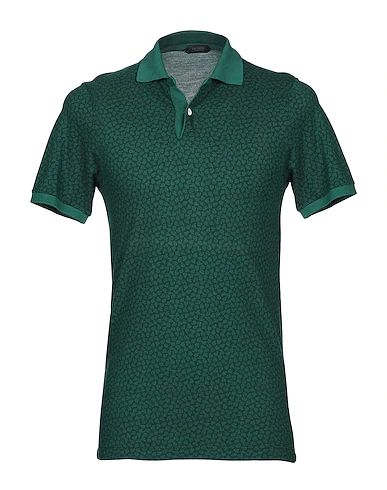 Stylish Looks for Holiday Travel, men's holiday resort outfits, men's ZANONE green print Polo shirt