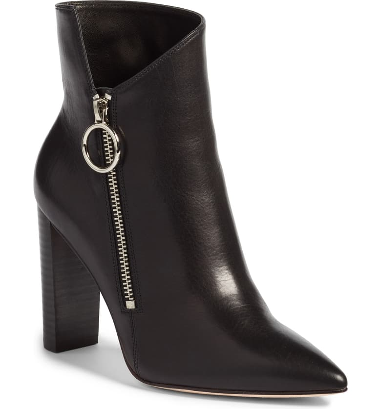How to Create a Year-Round Capsule Wardrobe with 10 Staples, ankle boots, Paige black kate asymmetrical booties
